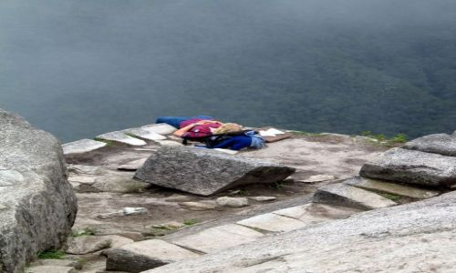 Zdjecie PERU / Andy / Kordyliery / Wayna Picchu - odpoczynek :D