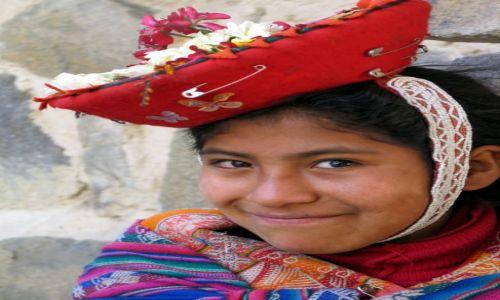 Zdjęcie PERU / Ollantantaybo / okolice Cusco / Kapelusz z kolekcji  - rozmaitości....