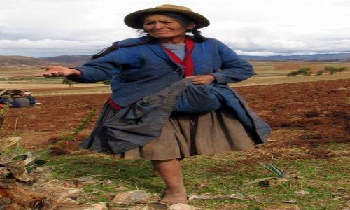 Zdjęcie PERU / Andy / okolice Moray / siała baba mak....