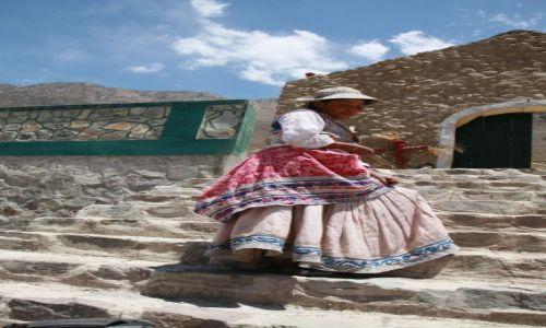 Zdjęcie PERU / Andy / kanion Colca / Kobieta...