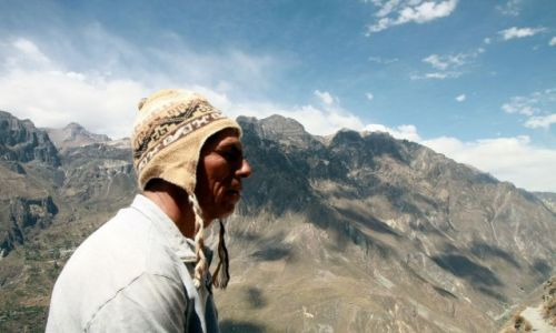 Zdjecie PERU / Andy / kanion Colca / Remigio - 100 procent Inki...w Ince ;D
