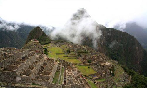 Zdjecie PERU / brak / Machu Picchu  / zkomercjalizowane  Machu Picchu aczkolwiek magiczne