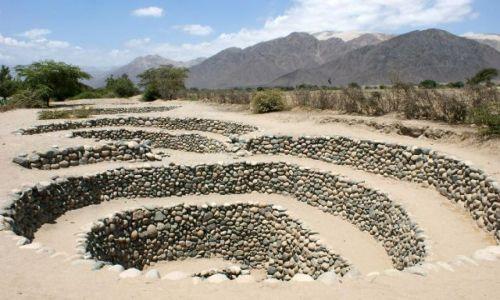 Zdjęcie PERU / okolice / Nazca / Akwedukty