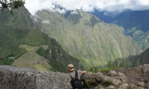 Zdjecie PERU / Machu / Picchu / Widok na Machu Picchu z Waynapicchu