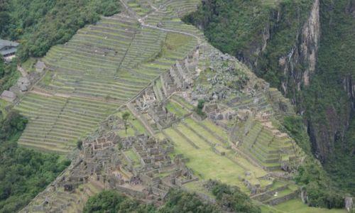 Zdjecie PERU / Machu / Picchu / Machu Picchu z Waynapicchu
