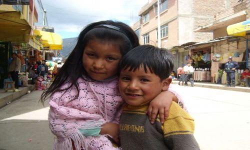Zdjecie PERU / - / Huancayo / Peruwiańskie dzieci
