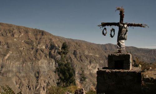 Zdjęcie PERU / - / Canion Colca / krzyz