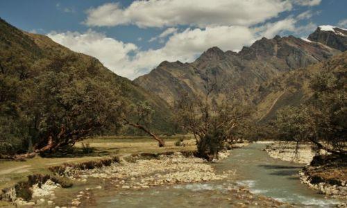 PERU / - / Parque Nacional Huascaran / ...stokrotka rosla polna...