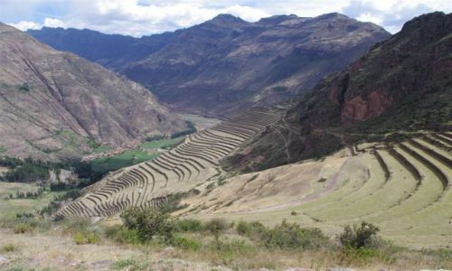Zdjecie PERU / Święta Dolina Inków / Pisac / Tarasy niedaleko Pisac
