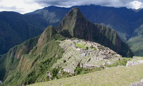 Zdjęcie PERU / Machu Picchu / Machu Picchu / Machu Picchu z Machu Picchu