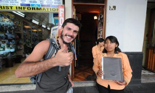 Zdjecie PERU / Arequipa / Arequipa / Mochilliero
