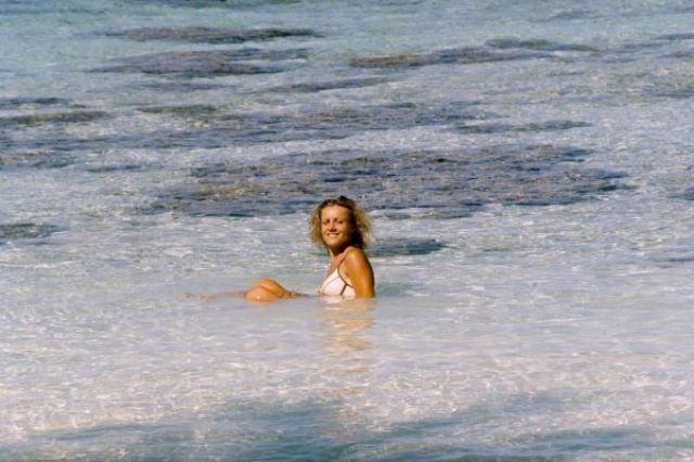 Zdjęcia: Tuż przed polem namiotowym, Wyspa Fakarava, Prawdziwe odludne wyspy, POLINEZJA FRANCUSKA