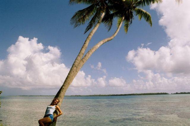 Zdjęcia: w tele atol otaczający wyspę, Wyspa BoraBora, Samotna, POLINEZJA FRANCUSKA
