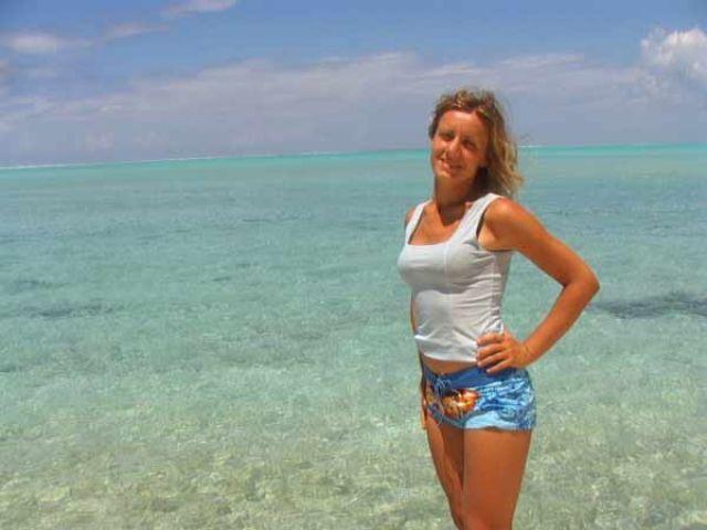 Zdjęcia: plaża, Wyspa MOOREA, W tym kolorze można się zapomnieć, POLINEZJA FRANCUSKA
