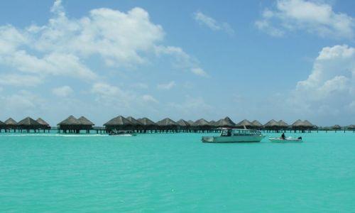 Zdjęcie POLINEZJA FRANCUSKA / Bora - Bora / Laguna / Hotel na lagunie