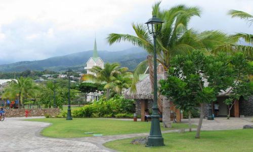 Zdjęcie POLINEZJA FRANCUSKA / Tahiti / Papeete / Kościół protestancki