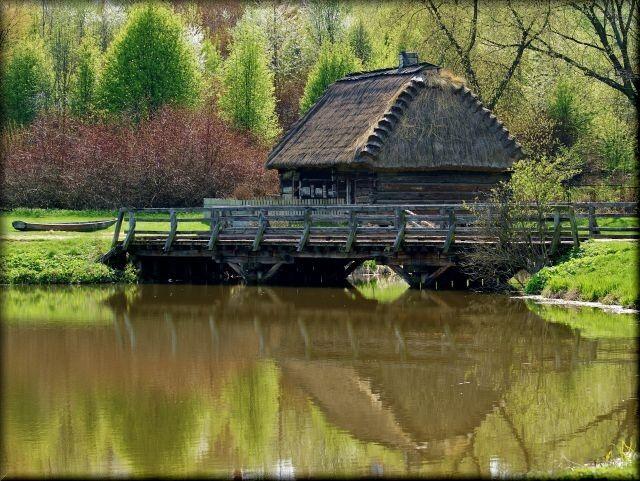 Zdjęcia: skansen, lubelszczyzna, Wiosna w skansenie, POLSKA