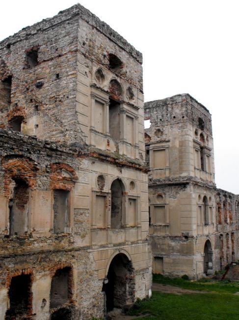 Zdj�cia: Ujazd, �wi�tokrzyskie, zamek Krzy�top�r, POLSKA