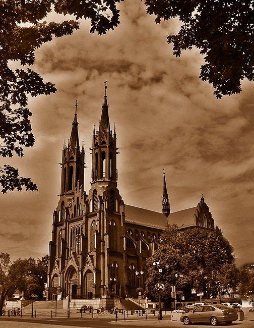 Zdjęcia: Białystok, Podlasie, Katedra, POLSKA