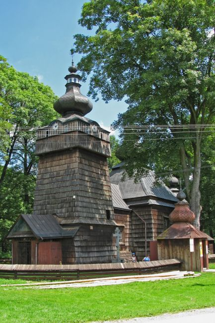 Zdjęcia: Hańczowa, Beskid Niski, Cerkiew, POLSKA