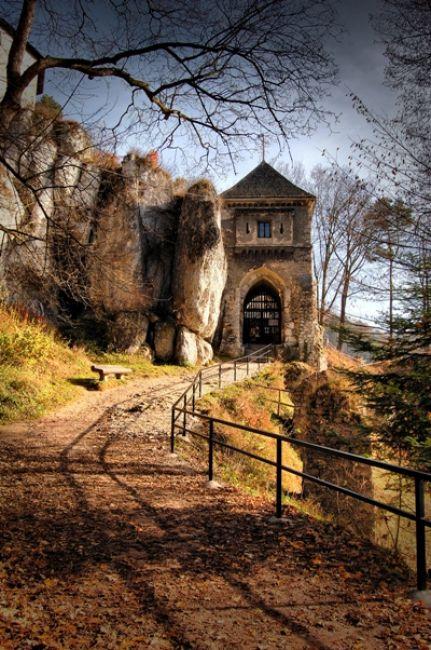 Zdjęcia: Ojców, OPN, Zamek w Ojcowie, POLSKA