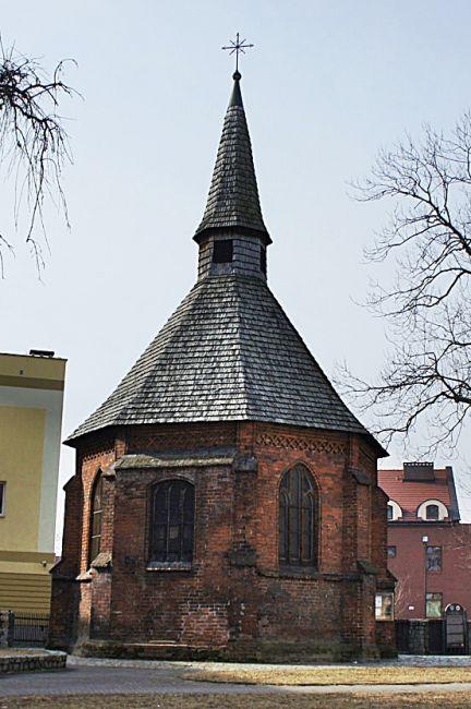 Zdjęcia: Koszalin, Zachodniopomorskie, Kaplica św. Grtrudy, POLSKA