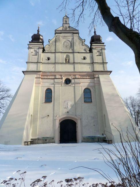 Zdjęcia: Turobin, Lubelszczyzna, Kościół w Turobinie, POLSKA