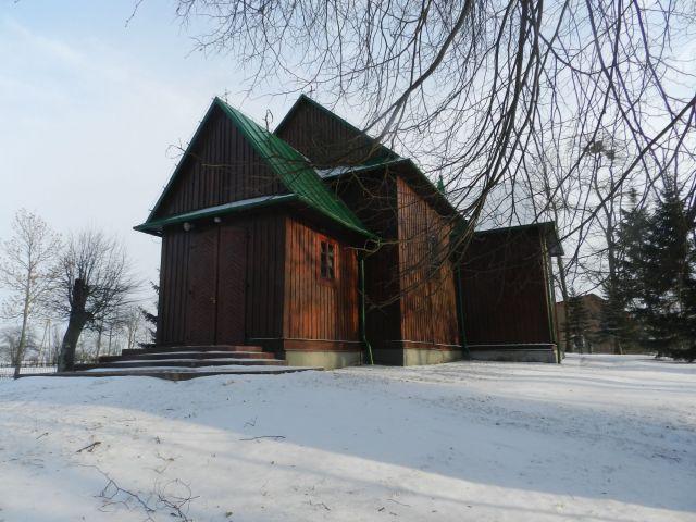 Zdjęcia: Turobin, Lubelszczyzna, Kościół w Czernięcinie, POLSKA