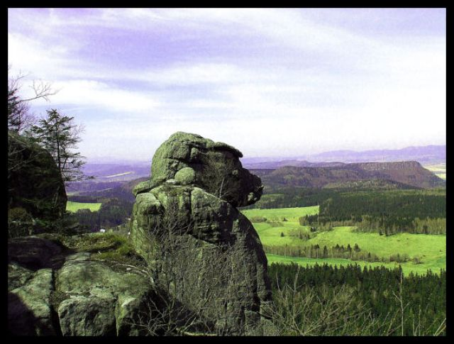 Zdjęcia: błędne skałki, Góry stołowe, king kong, POLSKA
