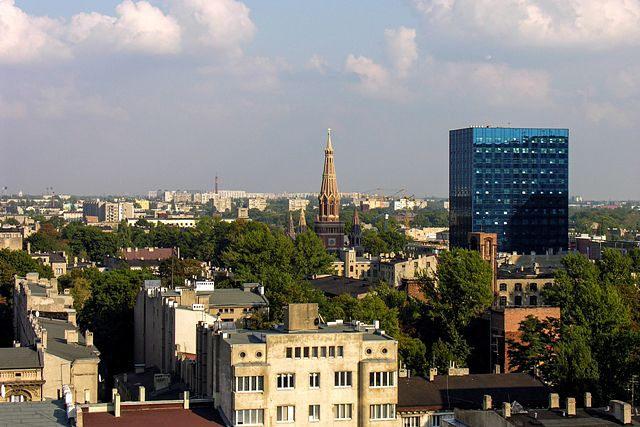 Zdjęcia: Łódź, Widok na miasto, POLSKA