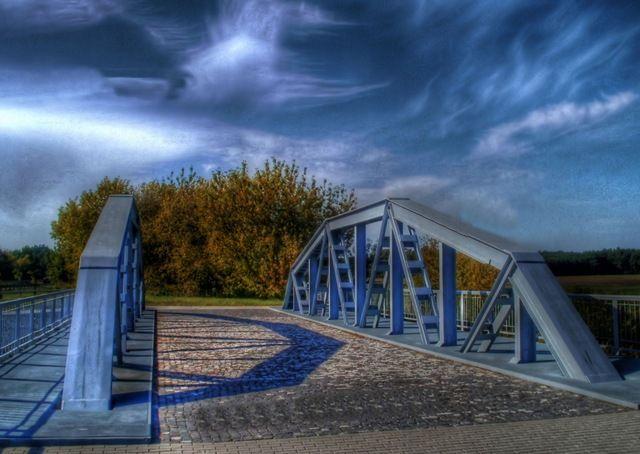 Zdjęcia: ok. Maurzyc, łódzkie, Most na Słudwi, POLSKA