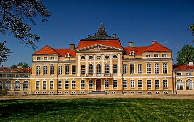 Zdjęcia: Rogalin, WIELKOPOLSKA, Pałac w Rogalinie, POLSKA