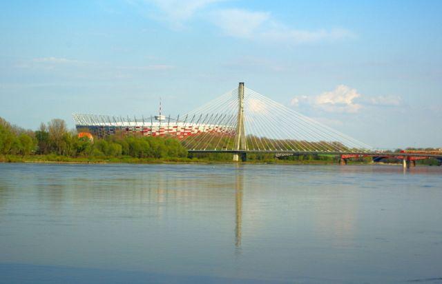 Zdjęcia: Warszawa, Mazowsze, Nad Wisłą., POLSKA