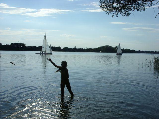 Zdjęcia: Kiekrz, Wielkopolska, Nad jeziorem, POLSKA