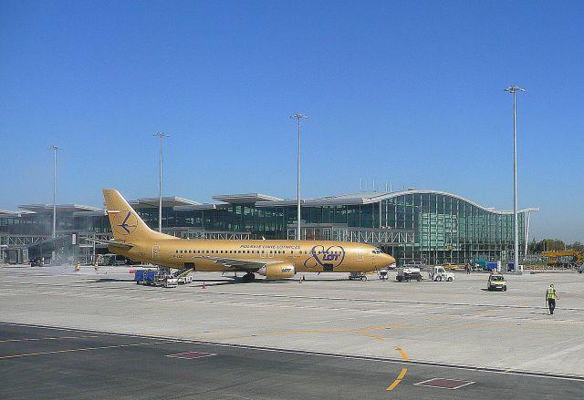 Zdjęcia: Wrocław - Strachowice, Dolny Śląsk, Nowy terminal lotniczy we Wrocławiu 2, POLSKA