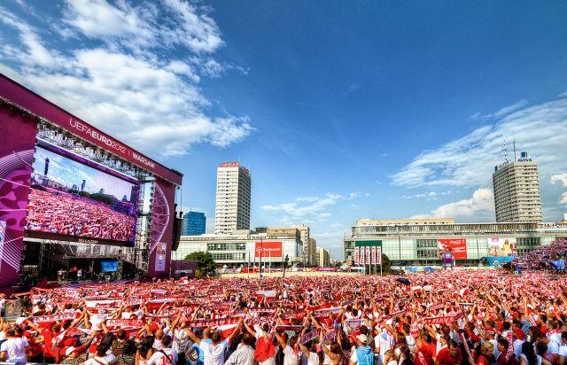Zdjęcia: Fan Zone, Warszawa, Euro2012, POLSKA