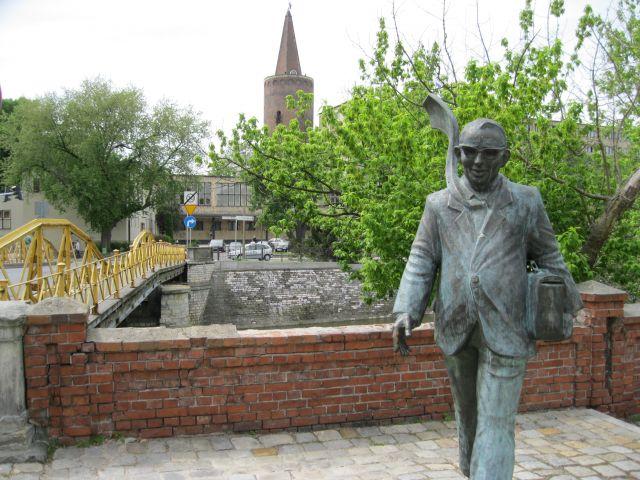 Zdjęcia: Opole, Pomnik Pana Musioła w Opolu, POLSKA