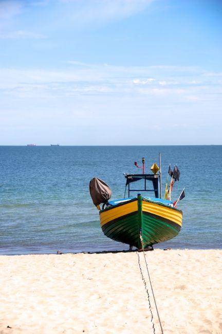 Zdjęcia: Gdynia Orlowo, Gdynia, Lodz rybacka (Gdynia Orlowo), POLSKA