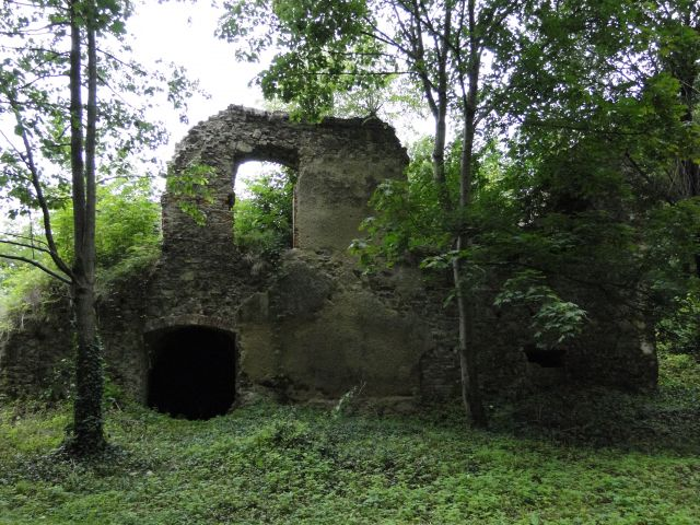Zdjęcia: Trzebina, Opolskie, Ruiny zamku -Trzebina, POLSKA