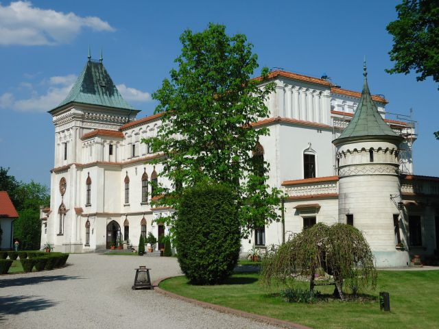 Zdjęcia: Przecław, powiat mielecki, Województwo podkarpackie, Zamek w Przecławiu, POLSKA