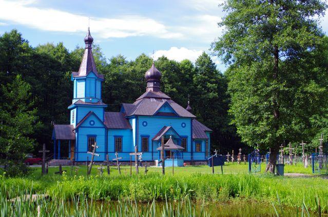 Zdjęcia: Koterka, Podlasie, Cerkiew na uroczysku, POLSKA