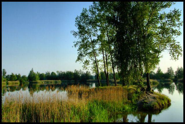 Zdjęcia: krapkowice, Ślask Opolski, jeziorko 4, POLSKA