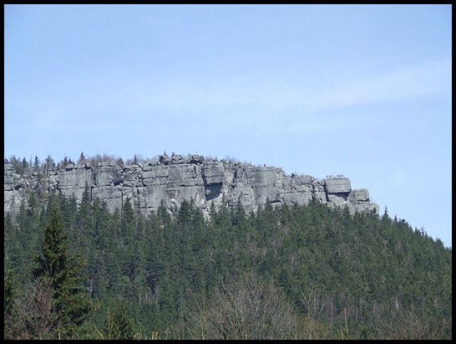 Zdjęcia: szczeliniec, Góry stołowe, szczeliniec duży, POLSKA