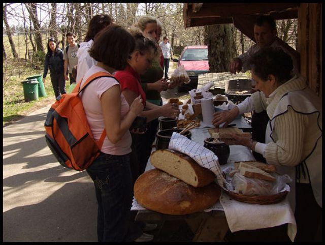 Zdj�cia: szczeliniec, G�ry sto�owe, kromal ze smalcem, POLSKA