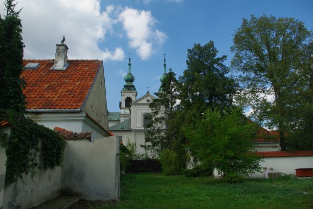 Zdjęcia: Warszawa, ul.Dewajtis 3, Las Bielański., Mazowsze., Zespół klasztorny kamedułów na Bielanach., POLSKA