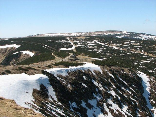 Zdjęcia: Karpacz, karkonosze, Widok z Śnieżki, POLSKA