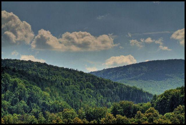Zdjęcia: Pokrzywna, Góry Opawskie, trzy szczyty, POLSKA