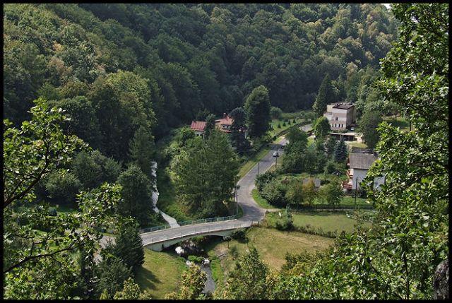 Zdjęcia: Pokrzywna, Góry Opawskie, mostek w Pokrzywnej, POLSKA