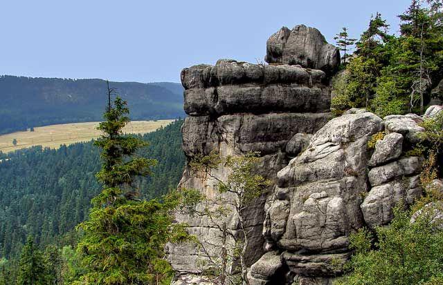 Zdjęcia: Park Narodowy Gór Stołowych , Góry Stołowe, Szczeliniec Wielki, POLSKA