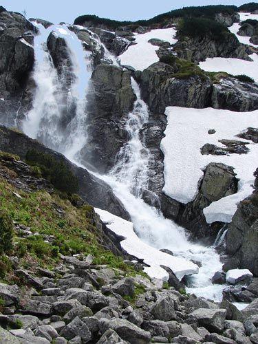 Zdjęcia: Siklawa, Wielka Siklawa – wodospad w Tatrach Wysokich , Tatry , Wielka Siklawa, POLSKA